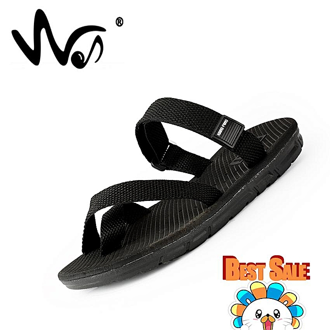 51345224c0f7 ... Flat Shoes Lightweight Comfortable Slippers · Fashion Men s Solid Flip- flops Summer Outdoor Men s Beach Sandals Soft Bottom Non-slip