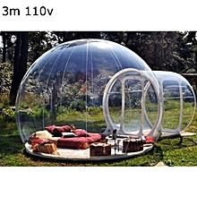 3 Sizes Bubble Tent Luxury Inflatable w Airblower Outdoors, Stargazing, and Camping