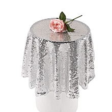 Sparkle Table Cloth Round Bling Sequin Tablecloth Wedding Event Party Decor '