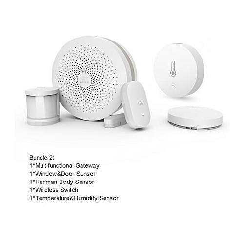 Xiaomi Smart Home Kits Gateway Version 2 Door Window Sensor Human Body  Wireless Switch Humidity Zigbee Socket MI APP