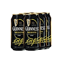 Stout Can - 6 Pack of 500ml each