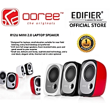 EDIFIER R12U Stereo Computer USB Bookshelf Active Speakers with Volume Control SWI-MALL