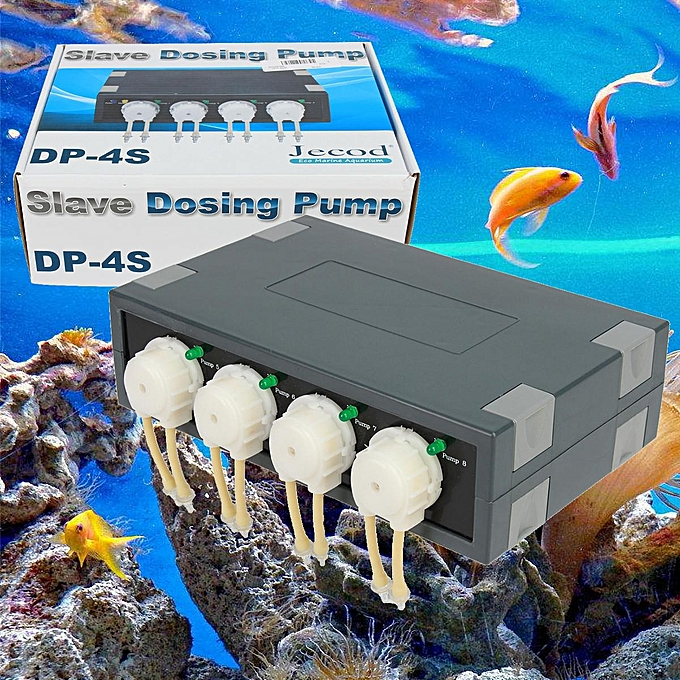 Jebao Jecod DP-4S Aquarium Reef Peristaltic Dosing Pump Automatic Doser 4  Models