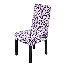 New Fashion  Comfortable Simple Pattern Office Hotel Home Restaurant Chair Seat Back Cover