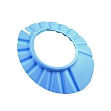 7746599ebc3 Soft Baby Kids Children Shampoo Bath Bathing Shower Cap Hat Wash Hair  Shield-Blue