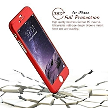 Full protective Case for iPhone 7 - Red