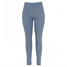 Sky Blue Womens Leggings