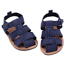 Baby Boys Sandals Toddler Scrub First Walkers Kid Shoes NY 11- Navy