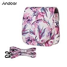 PU Camera Case Bag for Fujifilm Instax Mini 9/8+/8s/8, Pink