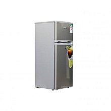 SGR-175HS - Refrigerator Double Door - Direct Cool Fridge - 175 Litres - 6.1Cu.Ft – Silver.