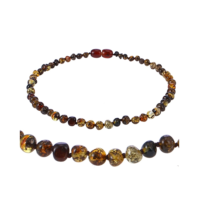 Amber Necklace For Women Baltic Natural Amber Beads Baby Jewelry For Boy  Girl Infant Teething Gifts 26a47a07be