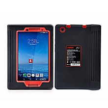 "Car Computer Diagnostic Tablet - 7"" - 4GB - 512MB RAM - 2MP Camera - Intel Core Duo - Android - Black and Red"