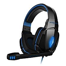 [G4000 Pro] Gaming Headset Soft Cushion - Blue