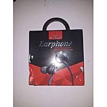 In-ear Earphones Super Clear Ear Buds Earphone Noise Isolating Earbud black