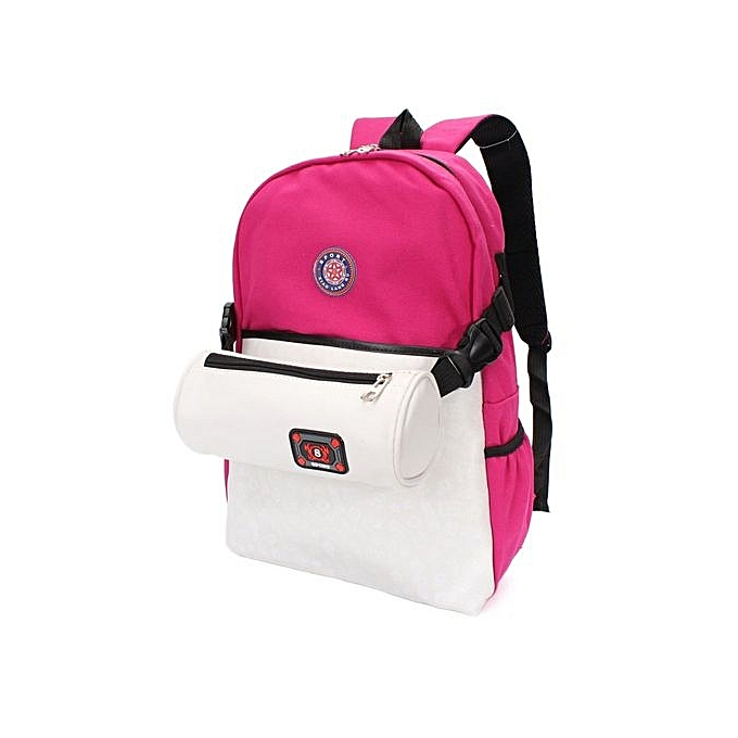 Buy Universal Women Canvas School Bag Girl Cute Backpack Travel
