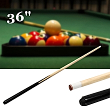 36 Inch Children Kids Wood Jointed Cue Pool Stick Snooker Billiards Sport Game