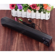 Computer Speakers Stereo Audio Enhanced Sound Soundbar for Mobile Phone Notebook