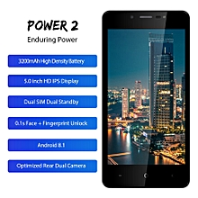 "LEAGOO POWER 2 Face ID Fingerprint Smartphone 2GB+16GB Dual Camera 3200mAh Android 8.1 Quad Core 5.0"" HD Mobile Phone"