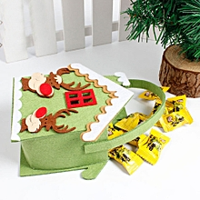 New Christmas Candy Bag Gift Bag Snowman A -multicolor
