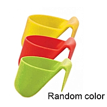 Home-3PCS/Set Food Grade Dip Clips Kitchen Bowl Kit Tool Small Dishes Spice Clip red&yellow&green