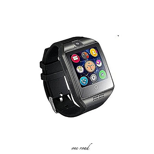 Bluetooth Smart Watch Q18 With Camera Facebook Whatsapp Synchronized Short  Message Mp3 Smart Watch Support Ios And Sim Tf Card