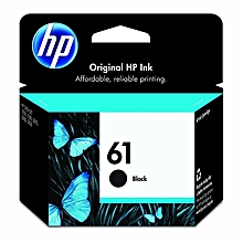 HP 61 black ink cartridges