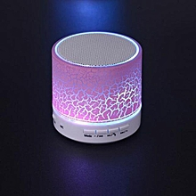 Portable Mini Wireless Stereo Bluetooth Speaker For Samgsung Tablet PC FM -Pink