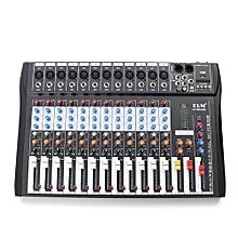 CT-120S 12 Channel Professional Live Studio Audio Mixer