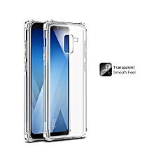 Imak TPU Airbag Shockproof Back Cover for Samsung Galaxy A8 Plus 2018 Soft Silicone