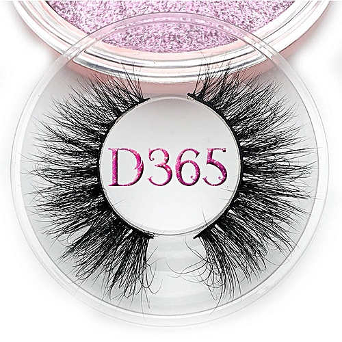 69ba76ead06 Generic Mikiwi D390 Mink Eyelashes 3D Mink Lashes Thick HandMade Full Strip Lashes  Cruelty Free Luxury Makeup Dramatic Lashes(C 0.15mm)