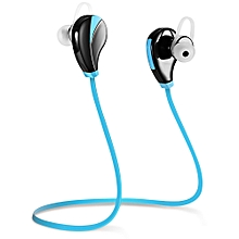 G6 Wireless Bluetooth 4.0 Earphone Headphone for Sports-NAVY BLUE