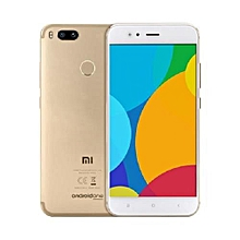MI A1, 4G - 4GB+32GB, 12MP Dual Camera (Dual SIM) - GOLD