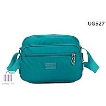 Turquoise Blue Sling Bag