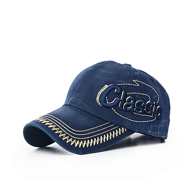 Mens Cotton Washed Baseball Cap CLASSIC Letter Embroidery Adjustable Sports  Snapback Hats f536865bf48b