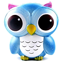 Cute Deer Unicorn Owl Cream Scented Squishy Slow Rising Squeeze Strap Kids Toy