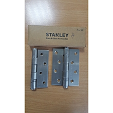 Stanley 5 Knuckle, 2BB hinge, 4x3x3mm, SS201