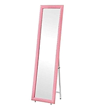 Standing Mirror with Frame - Pink
