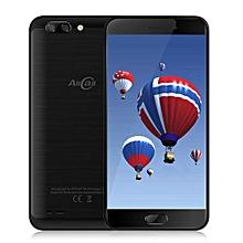Atom 4G Smartphone 5.2 inch Android 7.0 MTK6737 Quad Core 1.3GHz 2GB RAM 16GB ROM 2.0MP + 8.0MP Dual Rear Cameras-BLACK
