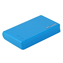 HP-10400MAH Portable 4*18650 Battery External Power Bank Phone Battery Charger blue