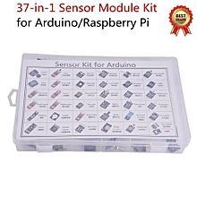 37-in-1 Sensor Module Kit With CD Tutorial For Arduino/Raspberry Pi