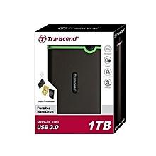 1TB External StoreJet Hard Disk Drive - Grey .