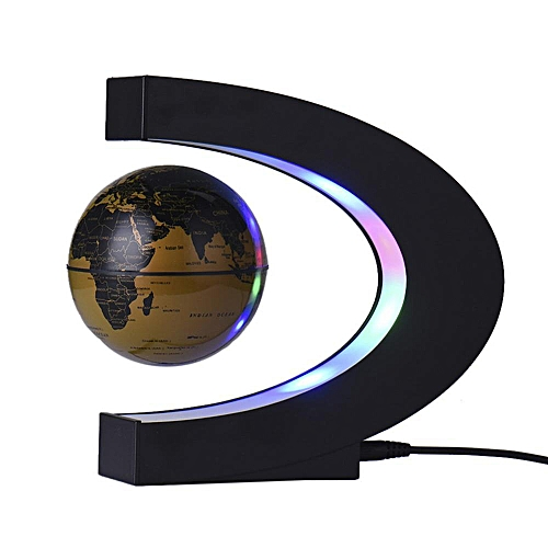 Buy louis will c shape decoration with led lights magnetic c shape decoration with led lights magnetic levitation floating globe world map globe gravity educational christmas gumiabroncs Choice Image