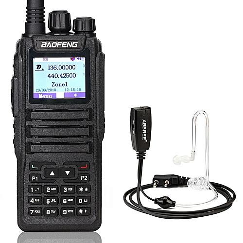 DM-1701 Digital Walkie Talkie DMR Dual Time Slot Tier1&2 tier ii Ham CB  Portable Radio upgraded of dm-1701 dm-5r plus REMIO