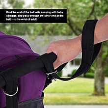 2Pcs Baby Stroller Safety Wrist Straps Infant Kids Pram Pushchair Anti Lost Harness Black Color