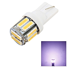 Youoklight 1PCS T10 5W Dc 12V 10SMD 7020 Cool White Lamp COOL WHITE LIGHT T10