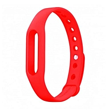 Wrist Band Replacement Bracelet For Xiaomi Band Red