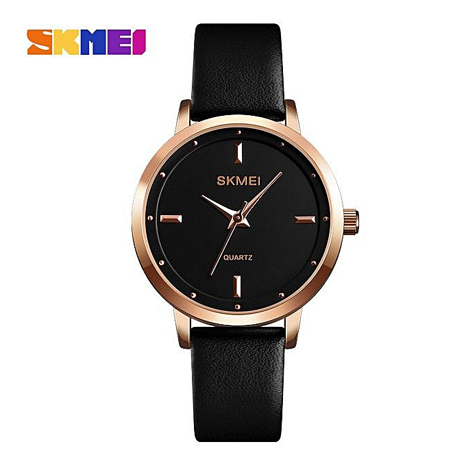 b0cd7166d07b SKMEI Brand High Quality Women Watches Luxury Leather Woman Watch 2018  Montre Femme Fashion Quartz Wrist