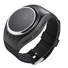 RS09 New Bluetooth Smart Watch Bracelet WristWatch With Music(Black)