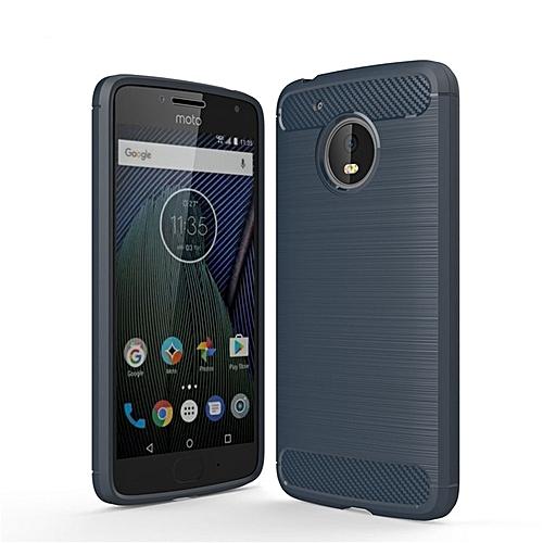the latest 19e2b 444c0 For Motorola Moto G5Plus Case Luxury Carbon Fiber Anti-drop TPU Soft Cover  Case For Motorola Moto G5 Plus Back Cover G5 Plus