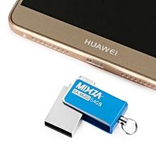 MIXZA SA - MU02 64GB OTG USB Flash Drive with Micro USB Port